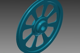 Round Wheel for single cam compound bow