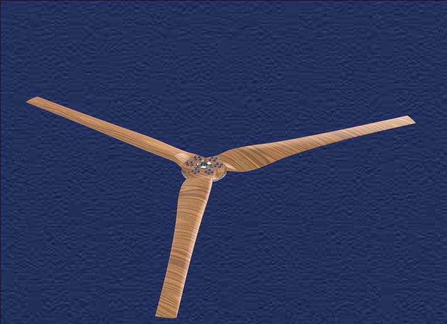 wind turbine blades | 3D CAD Model Library | GrabCAD