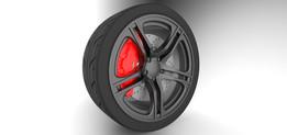 Wheel Assembly   Audi R8