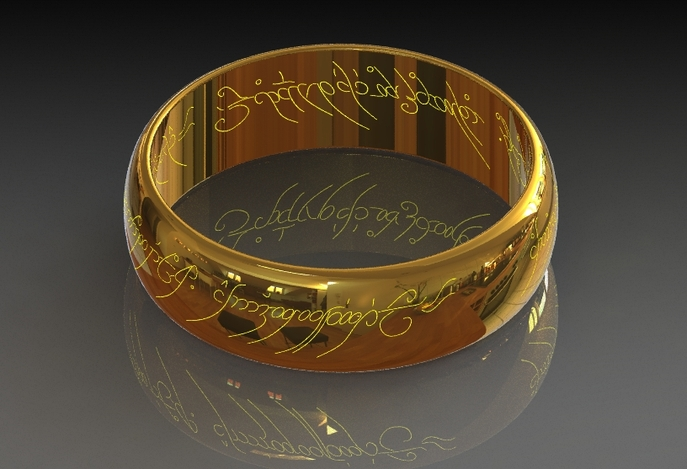 Sauron's Ring from Lord of the Rings