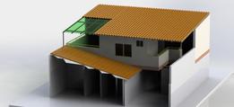 Ampliación parte trasera vivienda