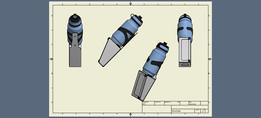 Aluminium co2 MTB case