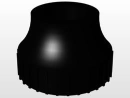 Sapata Roscável M6 - Base Foot M6