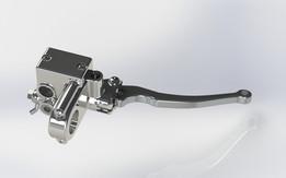 Manete jogo de freio hidraulico padrao direito