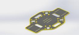 DJI F450 qoadrotor chasis