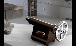 tailstock of lathe machine