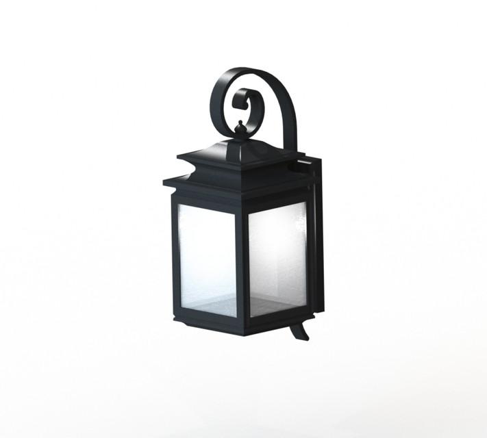Outdoor Wall Light Fixture   3D CAD Model Library   GrabCAD