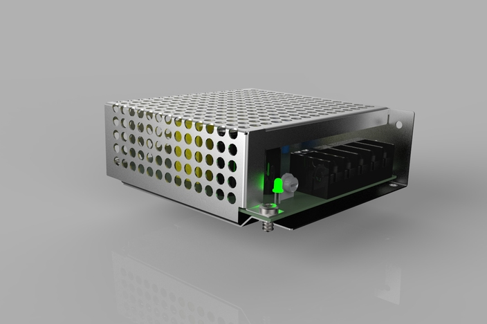 Switching power supply catia stl step iges solidworks 3d cad