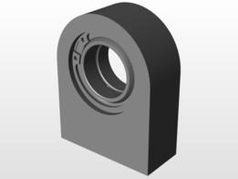 Hydraulic rod end - SKF 30 ES