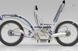 Lightning 03 Recumbent Hybrid Bike