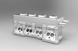 Complete race cylinder head