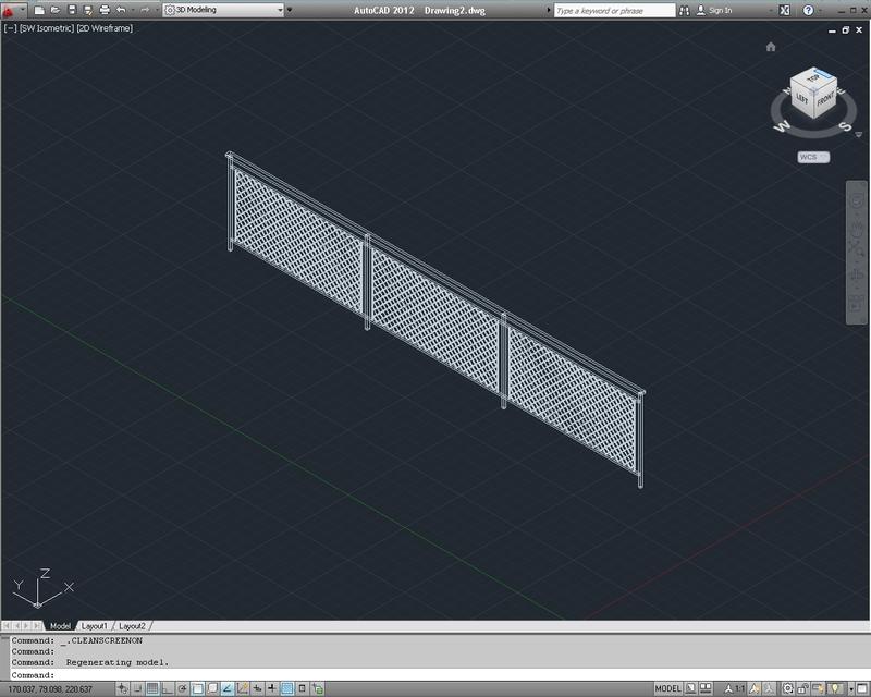 Balcony Railing | 3D CAD Model Library | GrabCAD