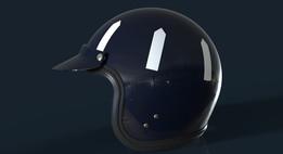 Classic Racing Open-Face Helmet Shell
