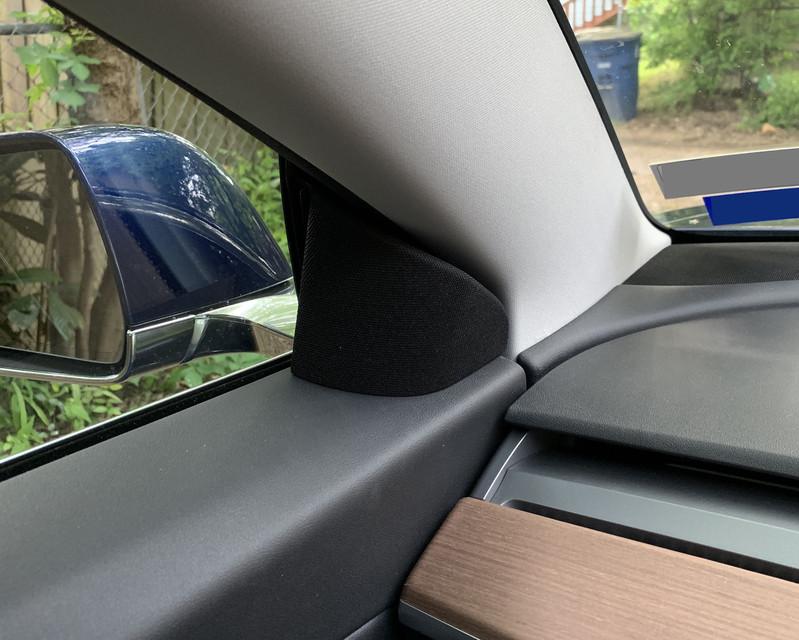 Tesla Model 3 Aftermarket Stereo Mounts | 3D CAD Model