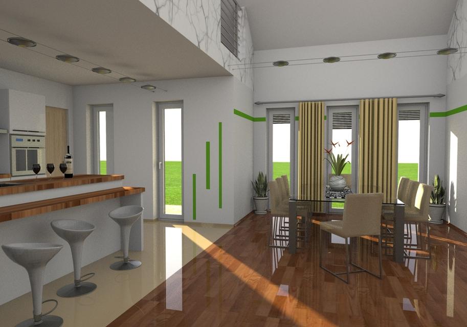 Interior 2 3d Cad Model Library Grabcad