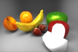 Fruits - Apple, Banana, Orange, Strawberry