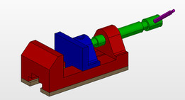 bench vice details and assembly