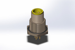 Turck M12 5 Position Connector
