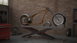Weldments collection: Chopper frames