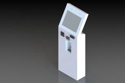 Kiosk simple design