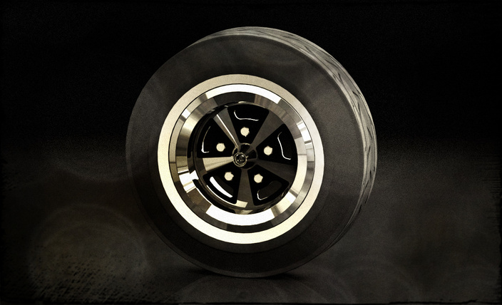 1970-1971 Dodge Road Wheel Class lll