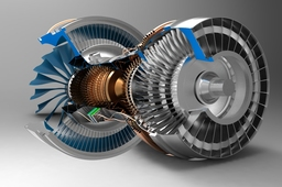 pratt and Whitney turbofan engine(pure power 1000G)
