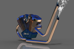 ZW3D Chopper engine