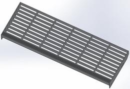 Standard Aluminum Stair Tread 12.125 x 36
