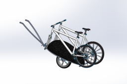 Motorcycle Trailer Bike Rack