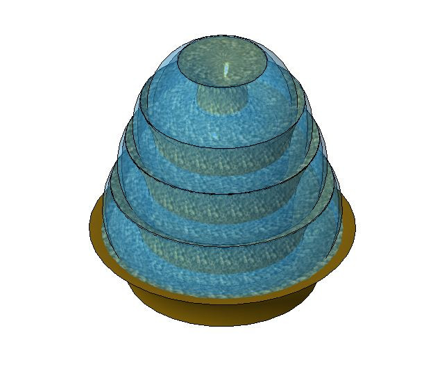 Water Fountian | 3D CAD Model Library | GrabCAD