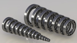 Подшипник 1xx (ГОСТ 8338-75) | Radial Ball Bearing 60xx (ISO)