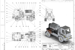 Cement Truck | Caminhão Betoneira