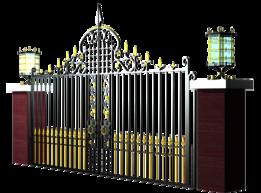 gate - Most downloaded models   3D CAD Model Collection