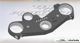 Yamaha R1 RN04 top yoke