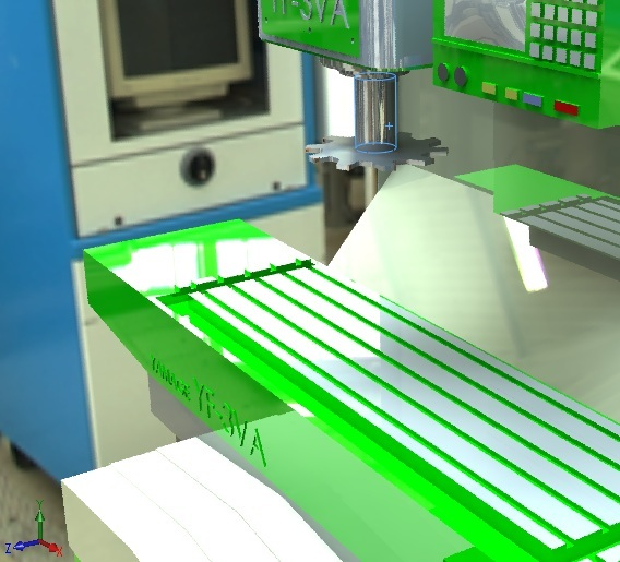 CNC Milling Machine | 3D CAD Model Library | GrabCAD