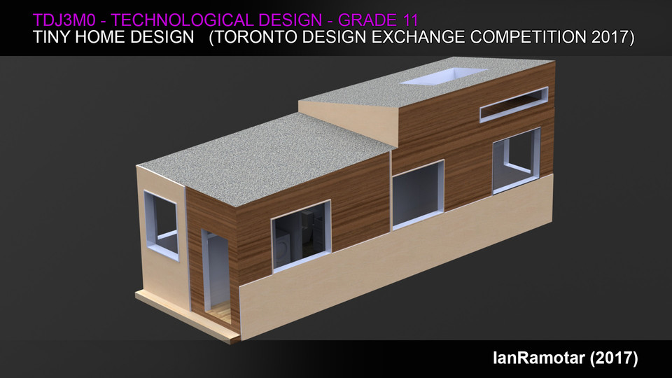 Architecture + Interior Design: Tiny House | 3D CAD Model Liry ... on tiny house blueprints, tiny house 3d model, tiny house sketch up, tiny house fad,