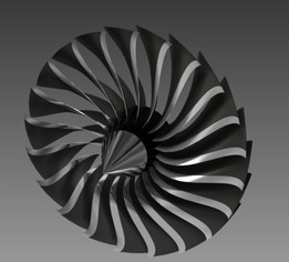 High Bypass Turbofan