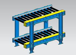 Heavy Duty Roller Conveyor.