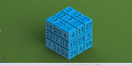 Magic Number Cube