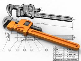 Chave de Grifo (Pipe Wrench)