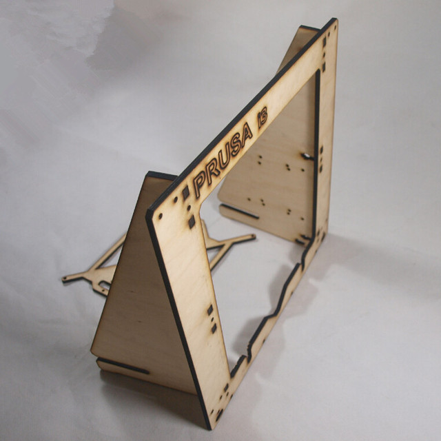 Prusa I3 Plywood Frame 6mm 3d Cad Model Library Grabcad