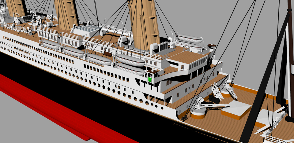 Rms titanic keycreator step iges 3d cad model grabcad for 3d model viewer