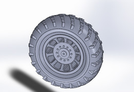 Heavy-truck wheel