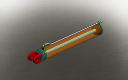 Cilindro Hidráulico de Dupla Ação - 150/50