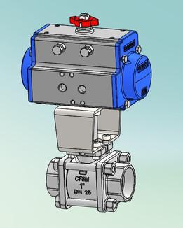 "1"" DA SW Ball valve"