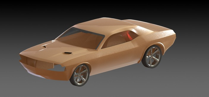 Dodge Challenger (Work in Progress)