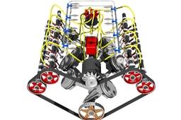 32 valve V8 engine