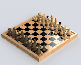 Chess(SolidWorks 2012)