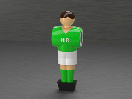Table Soccer figure - Northern Ireland