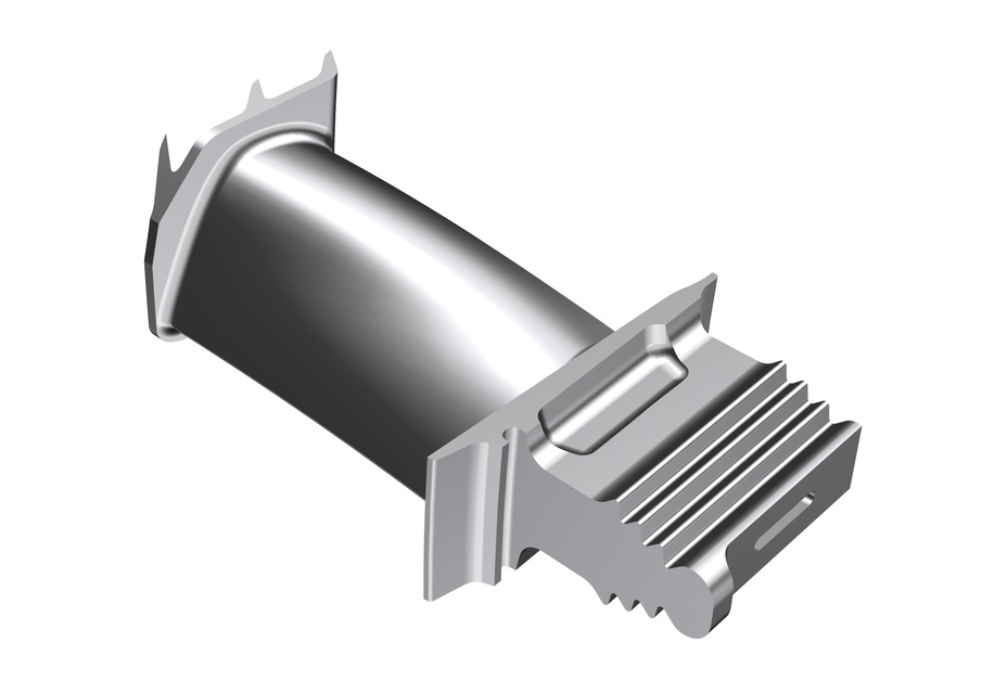 Turbine Blade 3d Cad Model Library Grabcad